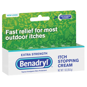 benadryl anti itch cream
