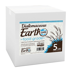 diatomaceous earth flea control 5 pound