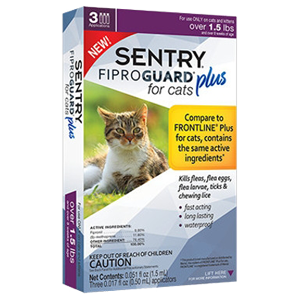 sentry fiproguard flea drops for cats