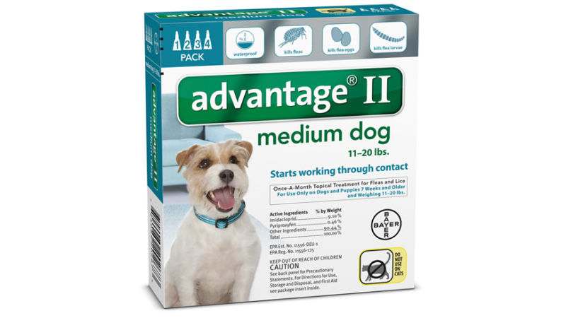 Advantage For Dogs Dosage For Cats
