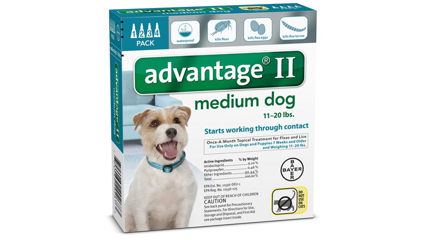 Advantage  For Small Dogs Dosage
