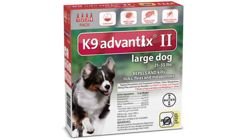 K9 Advantix II Dosage