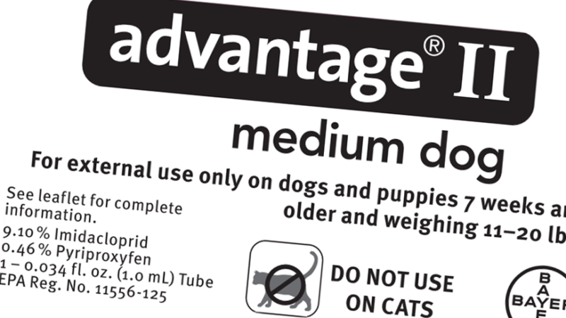 Advantage II for Dogs Dosage