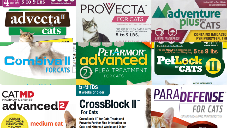 generic alternatives to Advantage II for cats