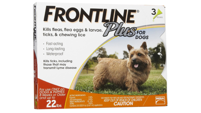 Frontline Plus For Dogs On My Cat